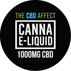 The CBD Affect 1000mg Canna E-Liquid