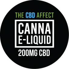The CBD Affect 200mg Canna E-Liquid